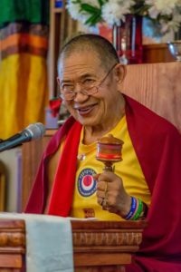 Garchen Rimpoche DIrector Gar Drolma Center