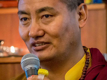 Khenpo Samdup Rinpoche Director of Gar Drolma Center