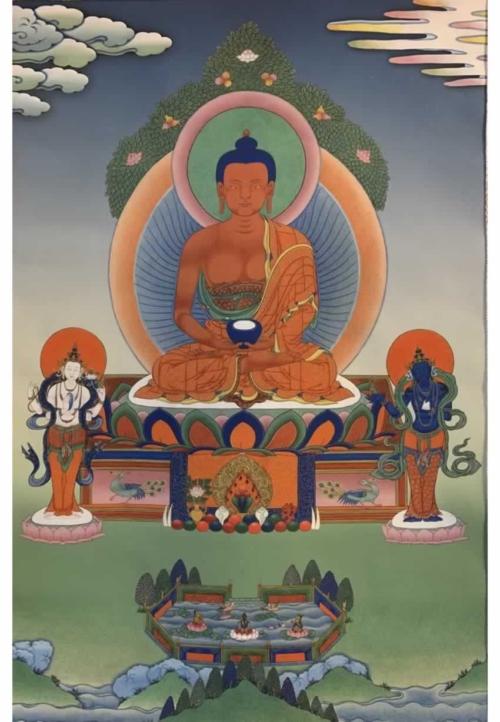 Buddha Amitabha Thangka
