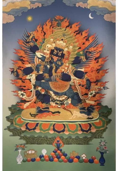 Vajrakilaya Thangka